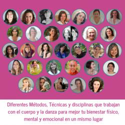 ponentes mujeres en movimiento